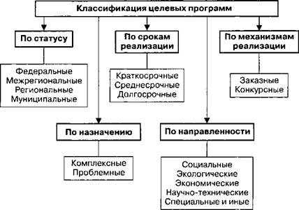 Целевые программы муниципальных образований