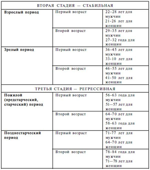 Схема периодизации